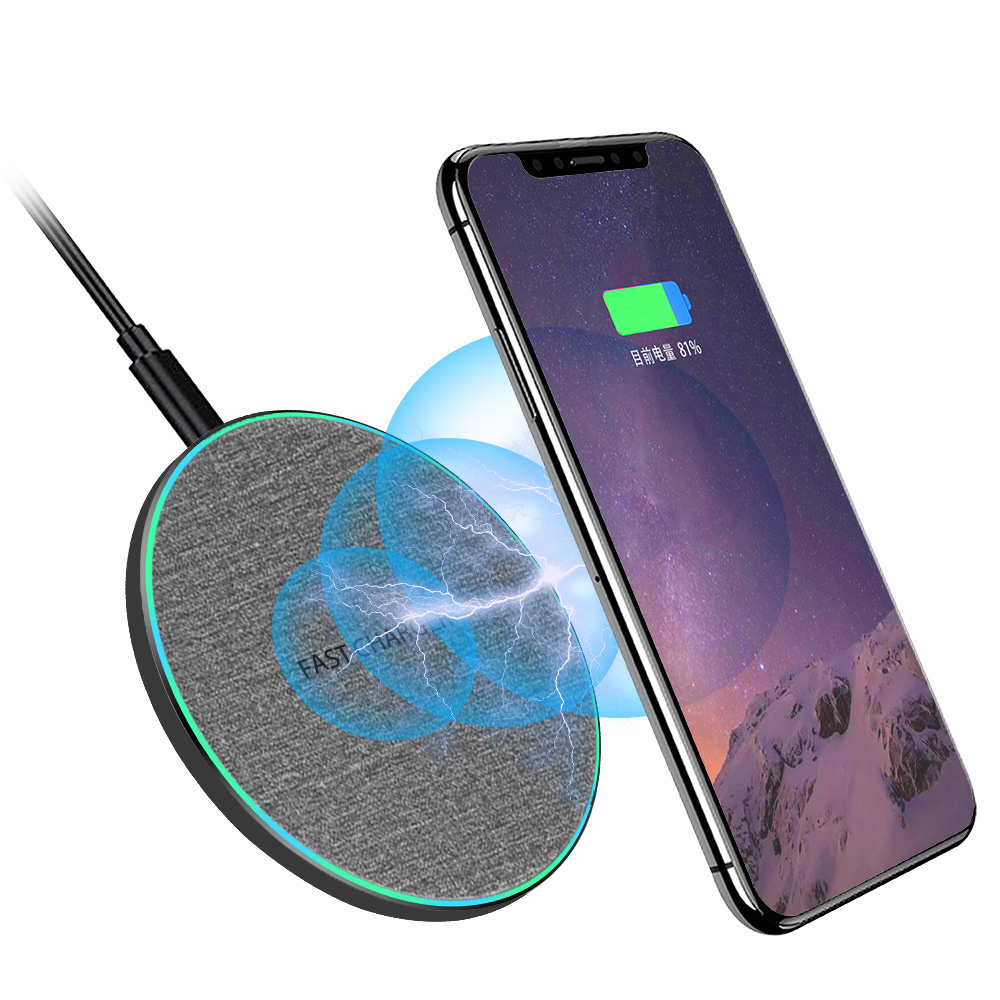 TKEY 10W qi Wireless Charger For Samsung S10 Note 9 USB fast Charger For xiaomi iPhone 11 Pro XS Max XR charging pad|Wireless Chargers| |  - title=