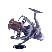 Spinning Fishing Reels 8000-10000 Metal Casting Saltwater Distant Wheel Throwing Trolling Distant Reel Spinning Fishing Tackle