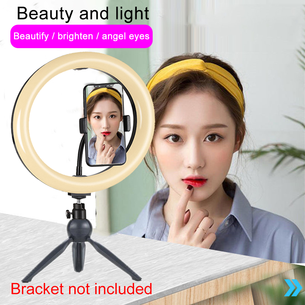 9inch Home Remote Control Rotating LED Ring Light With Stand For Selfie Advertisement Dimmable RGB Phone Holder Photography