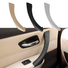 2Pcs/Set Car Inner Handle Interior Door Panel Pull Trim Cover Left Right for BMW 3 Series E90 E91 2004-2012 Auto Accessories car inner handle inner door panel pull trim cover left right for bmw 3 series e90 e91 316 318 320 325 328 car interior door hand