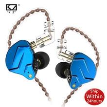 Kz Zsn Pro 1BA + 1DD Kz Hybrid Oortelefoon In Ear Monitor Headset Hifi Oordopjes Oortelefoon Oordopjes Voor Kz Zst zsx ZS10 AS10 C16 C10 Zax