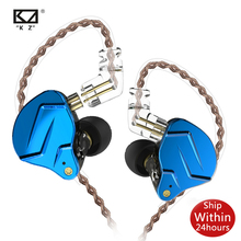KZ ZSN PRO 1BA + 1DD KZ híbrido auricular en el Monitor de la oreja auriculares HIFI Auriculares auriculares para KZ ZST ZSX ZS10 AS10 C16 C10 ZAX