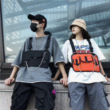 Unisex Couple Chest Bag Hip Hop Multifunctional Tactical bags Womens Vest Sports Waist Pack Fashion Outdoor Hunting
