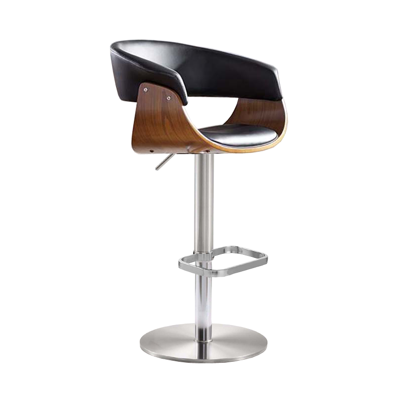Stainless Steel Bar Stool Lift High Stool Modern Minimalist Sales Front Desk Chair Light Luxury Bar Chair