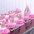 Оригинальные куклы LOL surprise Праздник День Рождения Вечеринка игрушки, декоративные фигурки, праздничные чашки, бумажные тарелки, скатерти