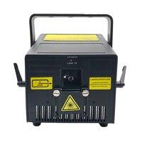 6W RGB laser galvo scanner stage light show system 6000mW for professional laser show Professional Light Holiday Lighting|Stage Lighting Effect| |  -