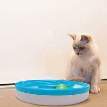 Домашние животные, кошки, собаки, медленное питание, миска, кормушка, катающийся мяч, звуковые игрушки для домашних животных, принадлежности SEP99