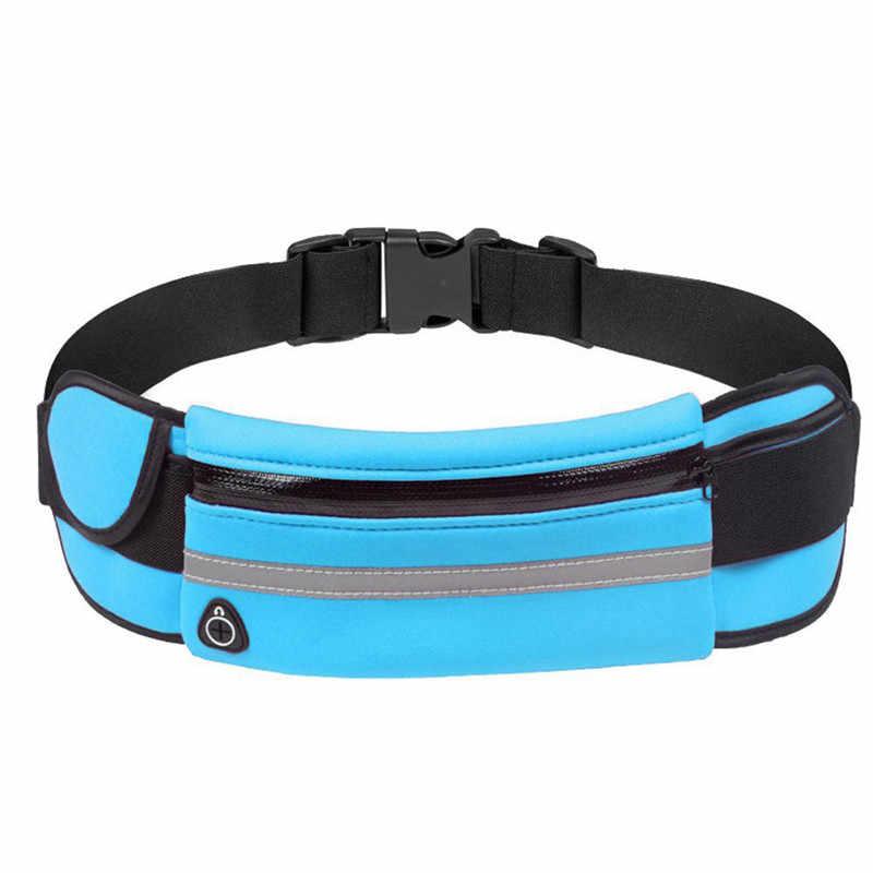Unisexe taille sacs course taille sac Sport course sacs pour femmes 2020 cyclisme téléphone sac étanche support hommes Jogging ceinture Pack