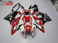 Motorcycle Fairing Kit For BMW S1000RR 09 10 11 12 13 14 Injection ABS Fairings S1000 RR 2009 2014 Red White and Black Bodyworks