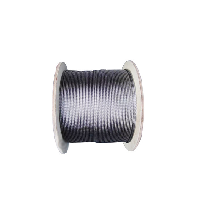 27.7 Meter Stainless Steel Wire Rope 7x7 Super Sturdy 3mm Diameter Durable Steel Wire Rope Cable Rustproof Clothesline