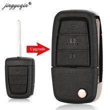Jingyuqin modifiye çevirme uzaktan anahtar Fob vaka kabuk için Chevrolet Caprice Holden Commodore VE 3 + panik anahtar 4 düğmeler