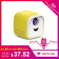 Vivibright L1 New Mini Projector WIFI USB Children Portable Projector 1000 Lumens Micro Video Projector 320x240p For Family