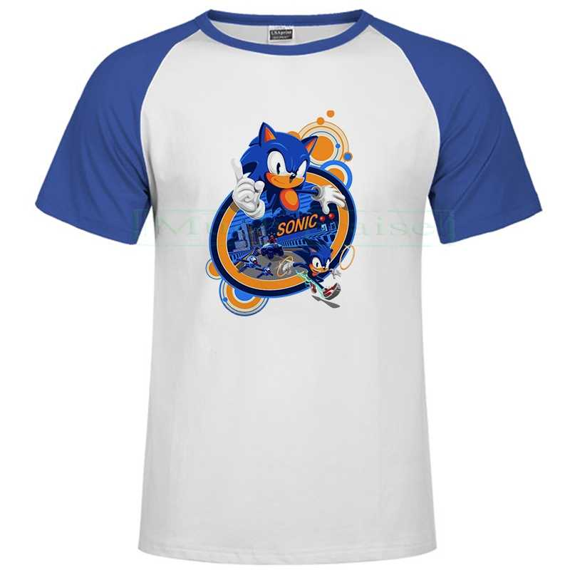 Sonic The Hedgehog Man Woman T Shirts 2020 Cute Cartoon Design Men T Shirt Tops Tees Funny Summer Off White Casual Clothes Aliexpress