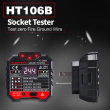 Socket detector HT-106B phase power polarity electroscope new