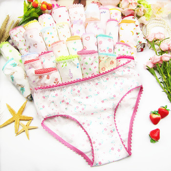 5Pcs Baby Kids  Underwear Girls Cotton Panties Girls Briefs 1-12 Years 1