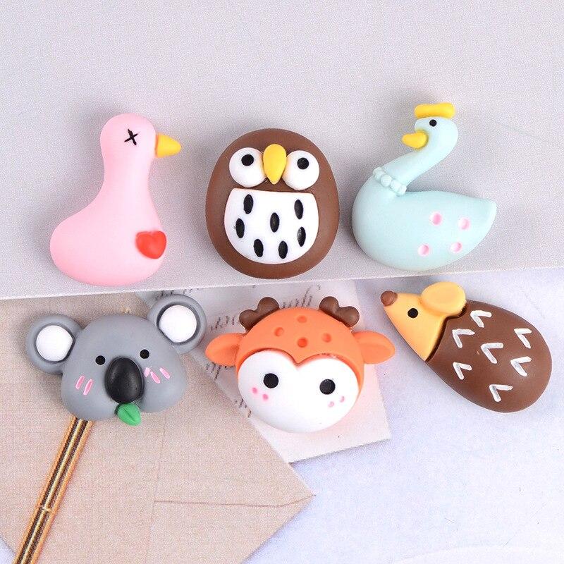 Animal Series Koala Fridge Magnet, Pink Swan Fridge Magnet, Cute Owl Blackboard Sticker