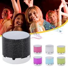 mini led column wireless bluetooth speaker tf usb mp3 portable music loudspeakers hand free call for iphone 6 phone pc with mic 1Pc Wireless Bluetooth Speaker LED Portable Mini Wireless Speaker Player USB Radio Fm Mp3 Music Sound Colum For PC Mobile Phone