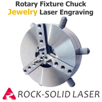 Rotary Gripper Fixture Chuck Claw Rotate Jig For Jewelry Ring Fiber Laser Marking Engraving Machine Parts Wholesale
