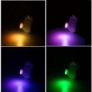 Image 5 - المرحاض السلطانية ليلة ضوء الذكية متعددة الألوان Led مقعد المرحاض ضوء مقاوم للماء الخلفية RGB للحمام المرحاض أضواء