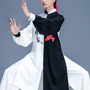 Image 2 - Chinese Taichi Uniform Kungfu Kleding Vechtsport Pak Prestaties Suits Wushu Kostuum Kung Fu Outfit Tai Chi Kleding FF2242