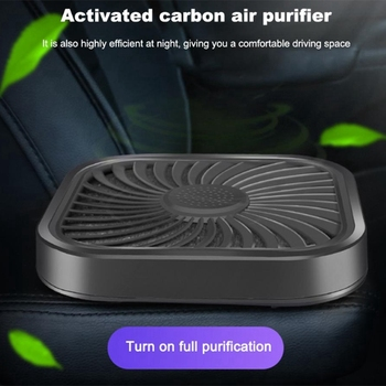 Purificadores de Ar do carro Purificador de Ar Filtro De Carvão Ativado de Purificação de Ar Do Carro Mais Limpo Portátil À Prova de Odor Eliminator Casa Deco B