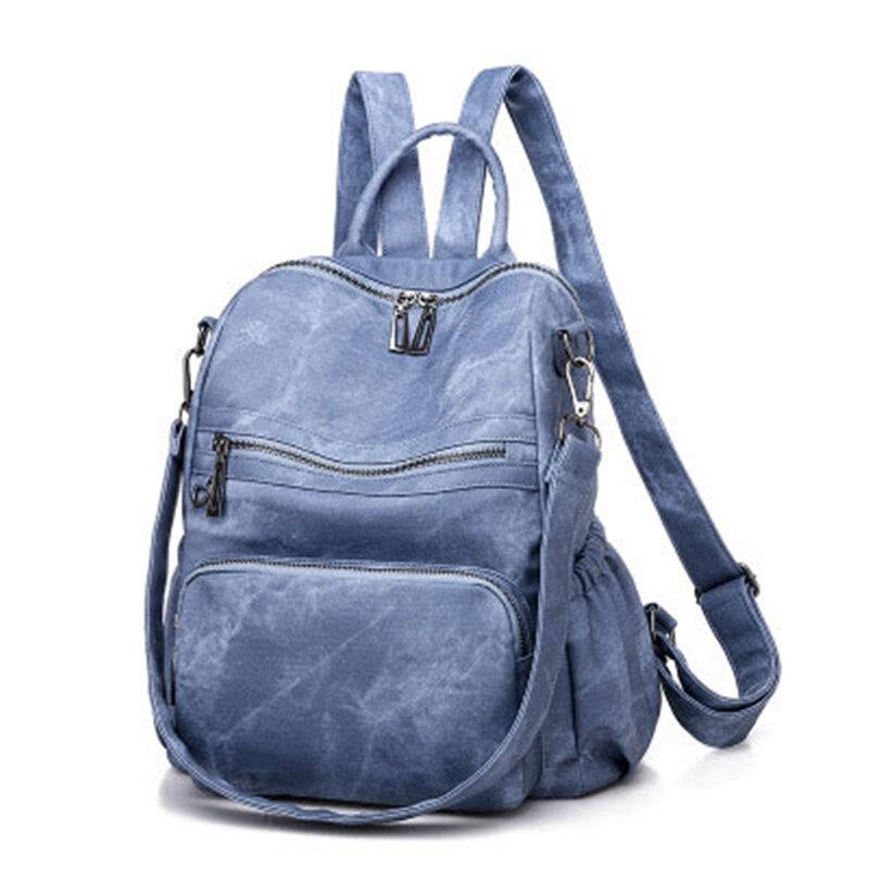 Nouveau mode femmes sacs à dos sac à main étanche sac à dos en simili cuir polyuréthane sac à bandoulière léger pour les adolescentes filles sac à dos Mochila
