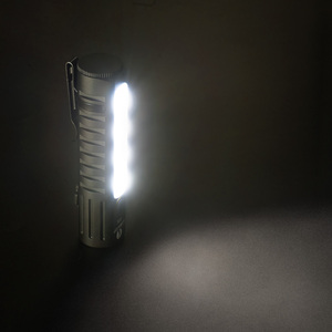 Image 4 - LUMINTOP E05C USB tipo 14500 linterna XPL HI principal LED Nichia luz lateral circuito de impulso UI mini linterna EDC práctica