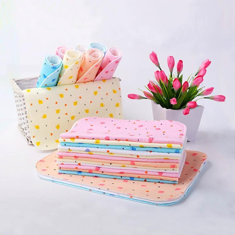 New Born Baby Diaper Changing Pad Mat Infant Portable Foldable Washable Waterproof Mattress Travel Pad Mats Cushion Reusable Pad