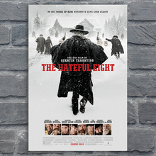 Movie Silk Poster The Hateful Eight Wall Art Prints Home Room Decorative Pictures Quentin Tarantino Canvas Posters 60x90cm gringo movie poster posters