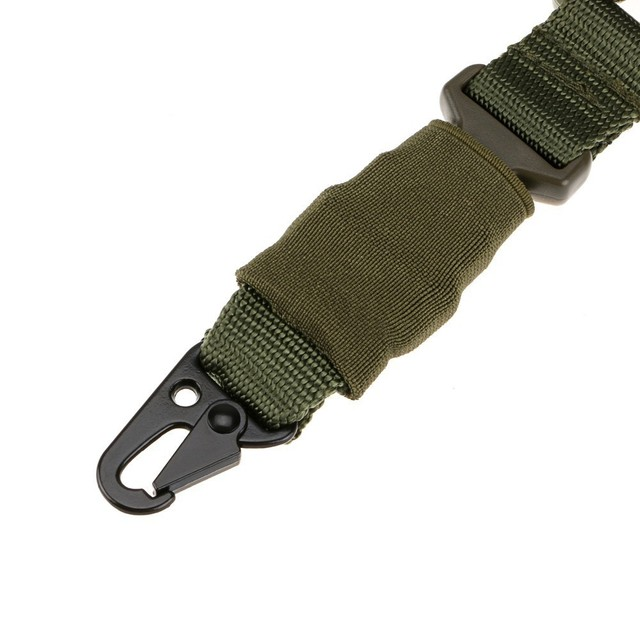 Tactical Single Point Rifle Sling Shoulder Strap Nylon Adjustable Airsoft Paintball Military Gun Strap Army Hunting Accessories 5