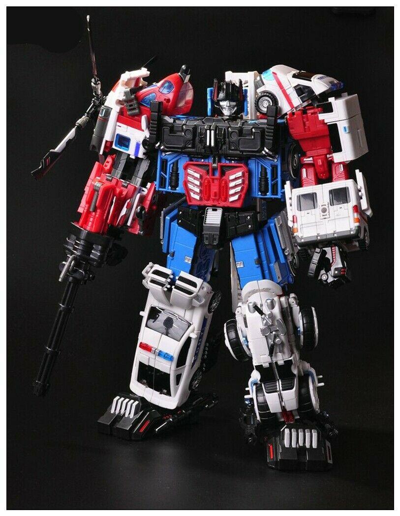 Nouvelle Transformation TFC jouets Prometheus Combiner Defensor lot de 5 figurine en Stock