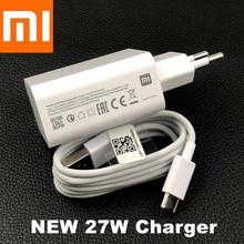 Original 27W Xiaomi Fast Charger QC 4.0 EU Turbo Charge adapter Usb TypeC for mi 9 SE 9T Pro A3 max 3 redmi note 7 8 Pro note 10