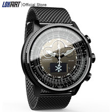LOKMAT Bluetooth Smart Watch Sport Waterproof pedometers Information Reminder digital men clock smartwatch for ios Android phone