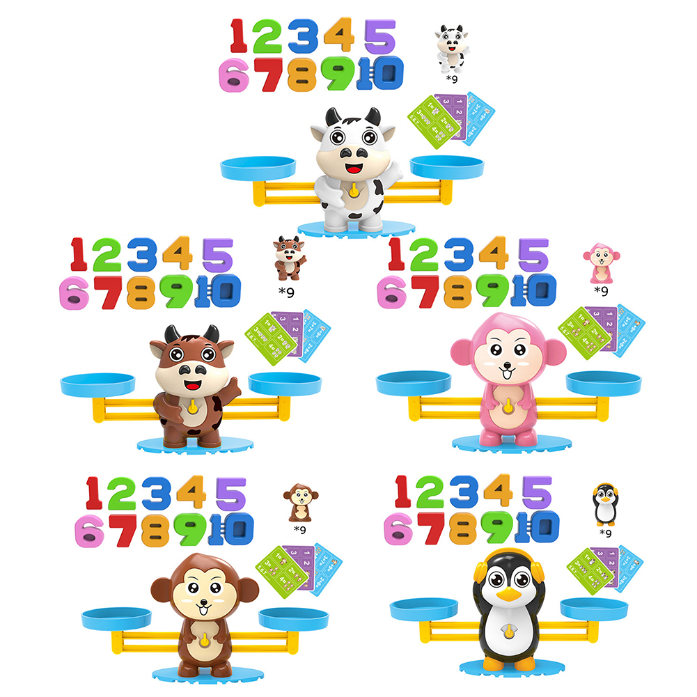 Balance Counting Children's Educational Cool Toys Teaching Educational Institutions Mathematics Animal Scale Toys