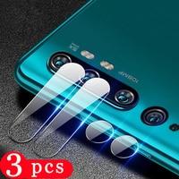 3/2/1Pcs für xiaomi mi note 10 uitra 10T cc9 CC9E 9 se 9t pro 8 lite 6X schutz Kamera Objektiv Glas telefon screen protector film