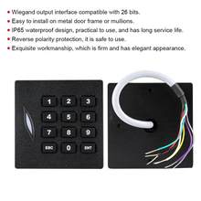 Waterproof WG26 Password Keypad Card Reader for Home Access Control System(China)