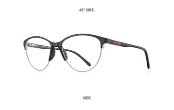 Womens Retro-Cat Eye Glasses