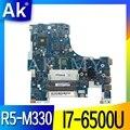 NM-A491 материнская плата для ноутбука Lenovo Ideapad 300-17ISK оригинальная материнская плата I7-6500U R5-M330