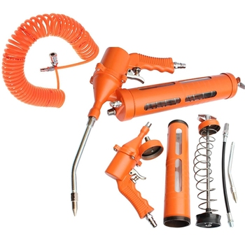 Manual Grease Tool Auto Parts Mechanical Lubrication Singles Pneumatic Grease Single Pressure Rod Grease Tool