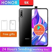 "Honor 9X Cell Phone 9X Kirin 810 Android 9.0 6.59"" 2340X1080 4GB RAM 64GB ROM Elevating Camera 48.0MP"