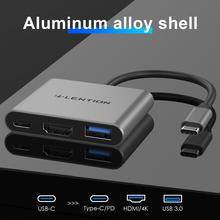 Lention USB C HUB to HDMI for Macbook Pro/Air Thunderbolt 3 USB Type C Dock Adapter support Samsung Dex mode with PD USB 3.0