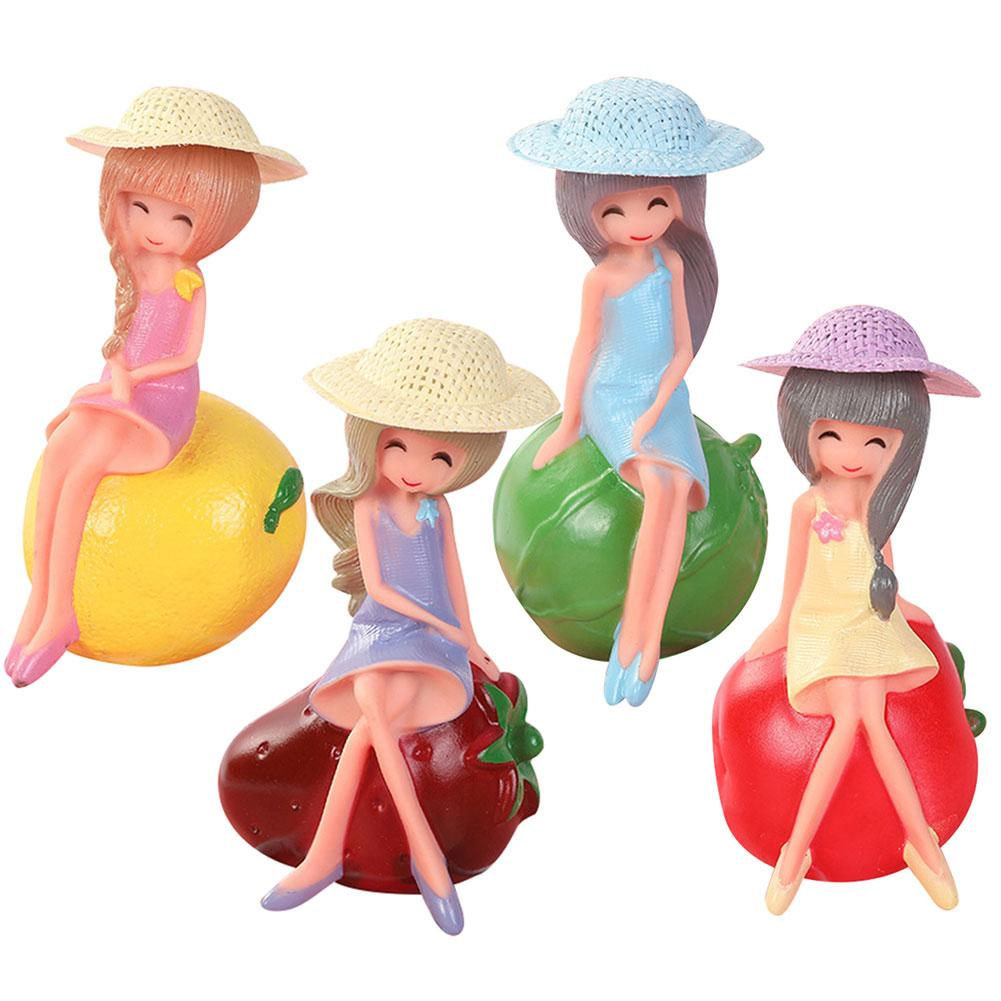 Lemon Strawberry Girl Soft Toddle Baby Kids Float Squeeze Sound  Bathing Water Playing Toy