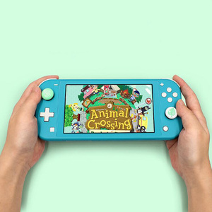 Image 5 - Animal Crossing Thumb Stick Grip Paw Cap Cover For Nintendo Switch NS Lite Screen Protector Sticker Skin Game Cards Box Case