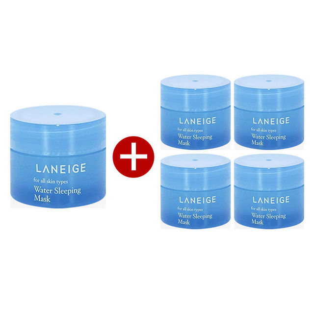 Korea Cosmetic Water Sleeping Mask 15ml Face Sleep Mask Skin Care Nourishes Tender Skin Whitening Moisturizing Facial Mask 1