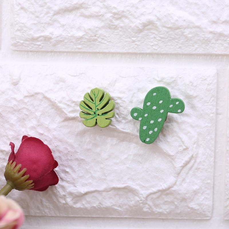 30pcs Cactus Thumbtack Pushpin Cork Board Pins DIY Art Photo Message Wall Decor N84A