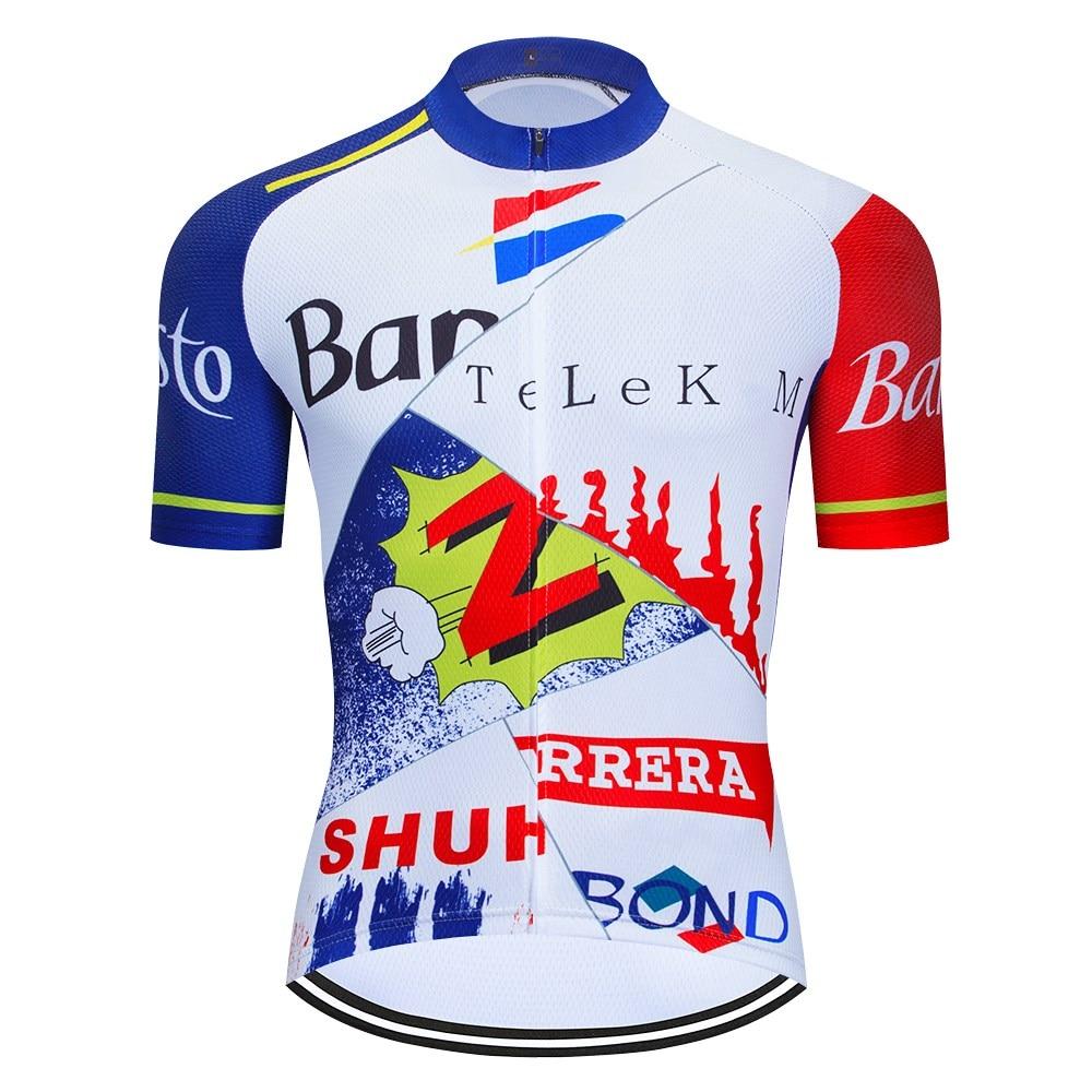 Мужская велосипедная футболка с коротким рукавом для езды на