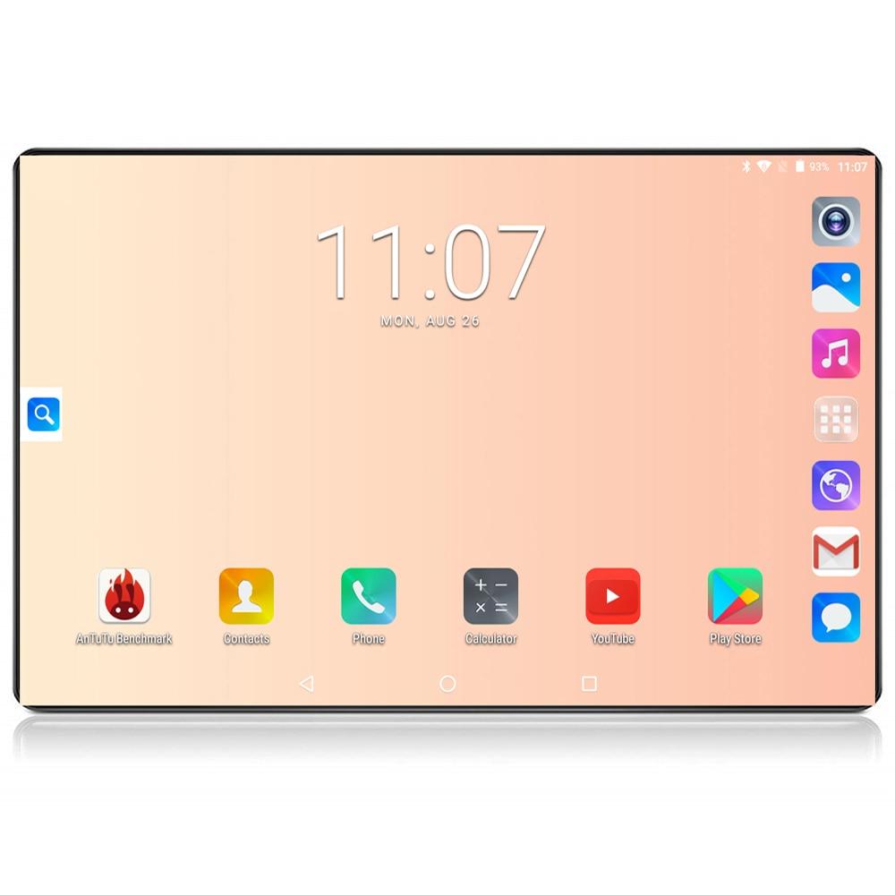 Планшет Google tablet, 10 дюймов, 6 ГБ ОЗУ 2020 Гб ПЗУ, Восьмиядерный, 128x1280 IPS 800 МП, Android 8,0, 4G FDD LTE Wifi GPS планшет 10 10,1
