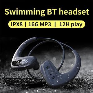 Image 2 - Cyboris Swimming Bluetooth Earphone Ipx8 Waterproof 16GB Wireless Mp3 Player Headset Sports Bathing Running Wireless Earbud