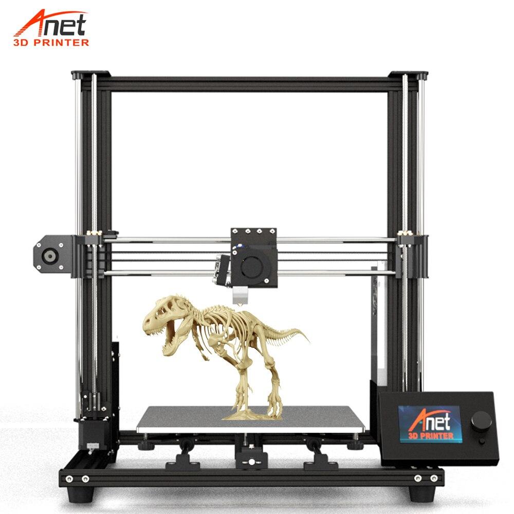 2020 новый обновленный большой размер печати 300*300*350 мм Anet A8 Plus Impresora 3d принтер 3d DIY довольно печать с Micro SD картой USB