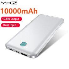 YKZ batterie d'alimentation 10000Mah LED Type d'affichage C USB Portable Charge rapide 3.0 4.0 Powerbank pour iPhone pour Xiaomi Huawei Samsung téléphone